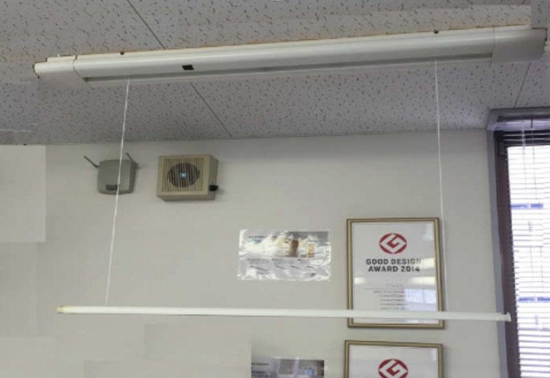 受託開発サービス|電動物干し機
