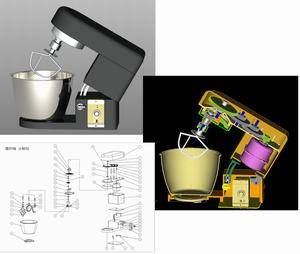 開発受託サービス|調理用攪拌機